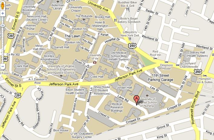 Where We Are Located - Uva map