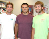Daniel, David and Chris