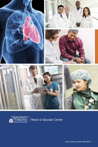 2016 Heart and Vascular Excellence Report Cover