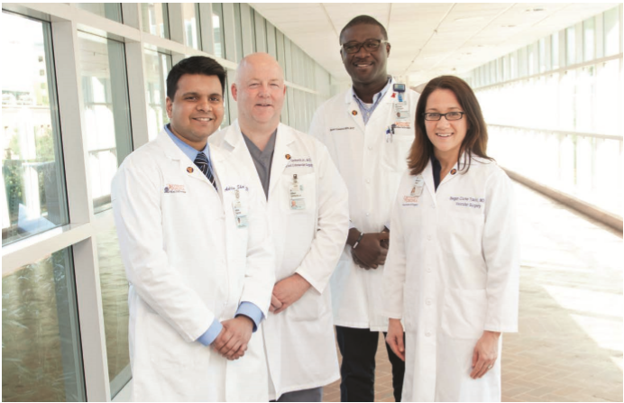 Photo of the Vascular Team