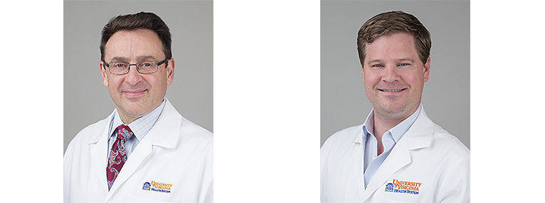 Drs Krupnick and Walters of Lung Imunnology Lab
