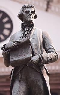 Photo of Statue of Thomas Jefferson