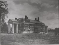historical photo of UVA Hospital - 1886