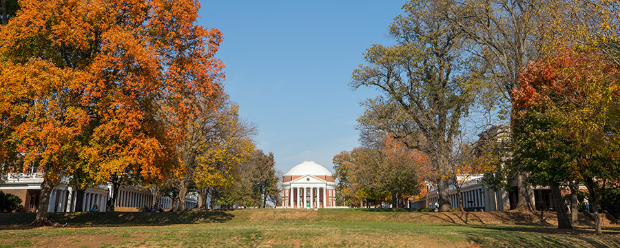 photo of uva lawn