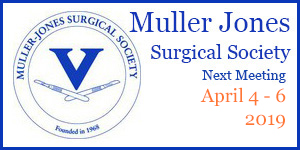 muller jones surgical society meeting