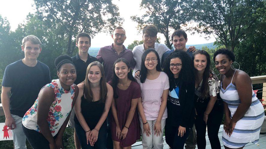 2018 diabetes summer research internship group shot