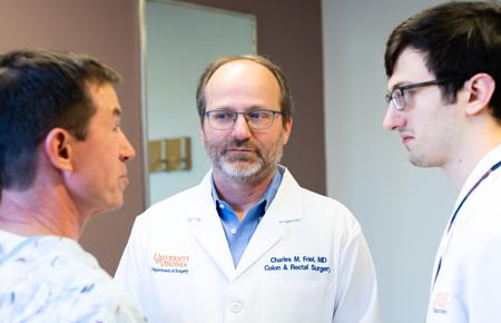 Photo: UVA Health patient consultation