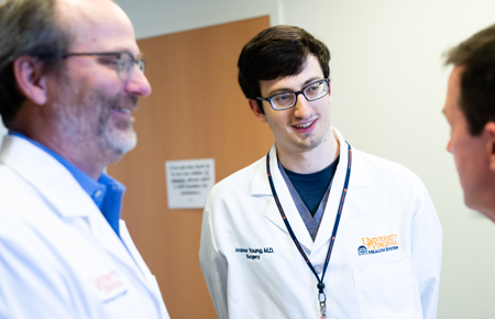 Photo: UVA Medical Student in training