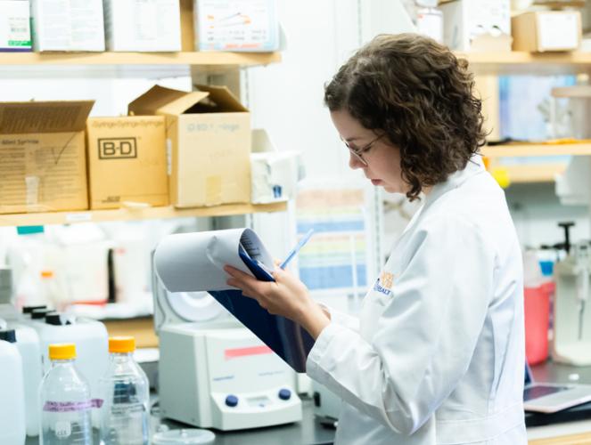 Photo: UVA School of Medicine research department