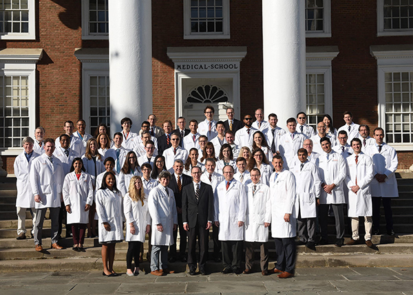 UVA Surgery Department Faculty, Residents, and Fellows